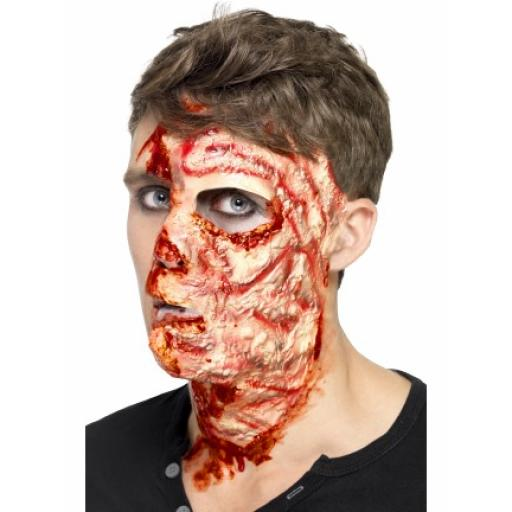 Burnt Face Scar Latex with Adhesive