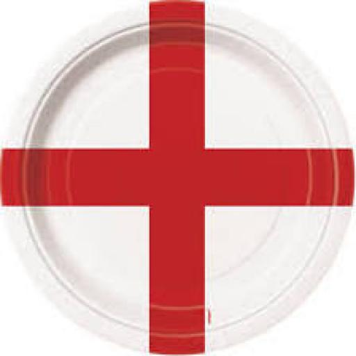 St George Paper Party Plates 8x9 inch