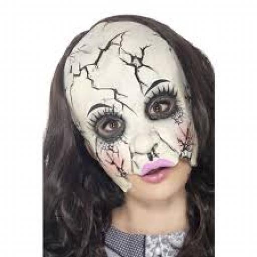 Damaged Doll Mask Adult