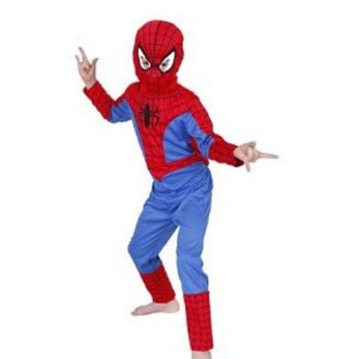 Spider-Man Costume with Mask 7-8 years