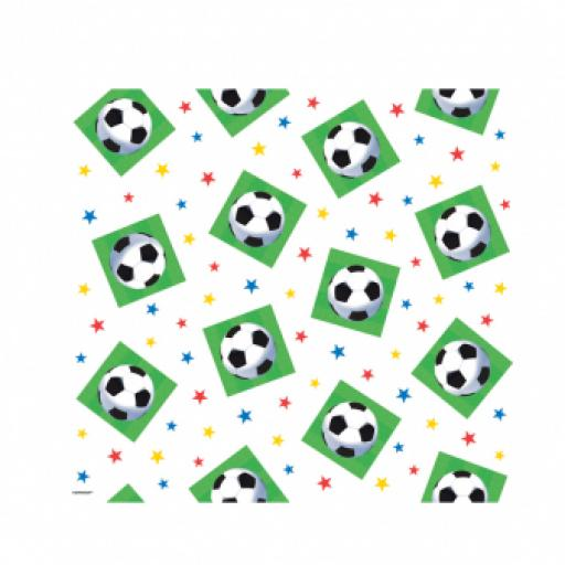 Championship Soccer Plastic Tablecover 54x102 inch