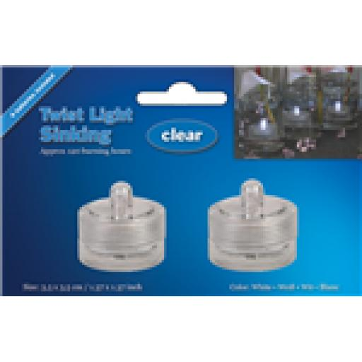 LED Sinking Twist Light Clear