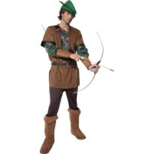 Robin Hood Top Trousers Belt Hat & Bootcovers