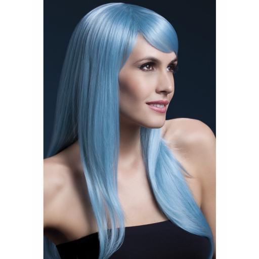 Fever Sienna Wig Pastel Blue