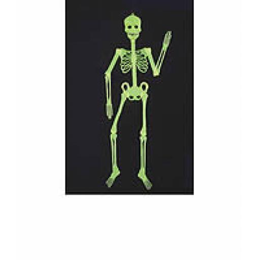 Glow In The Dark Skeleton 32cm