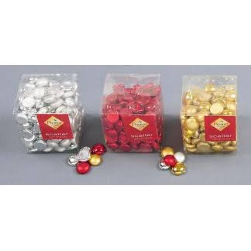 Premier Scatter Stones 250g Red Gold or Silver