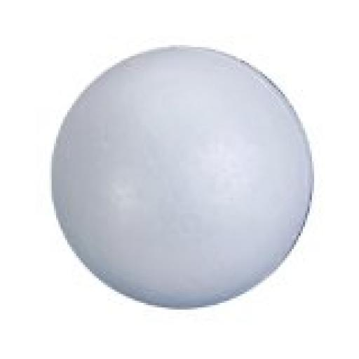 90mm Polystyrene Ball White