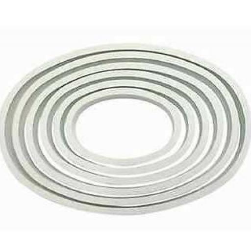 PME 6 Oval Cutter Set