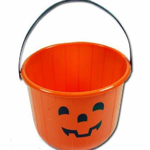 Bucket Pumpkin 17x22 cm