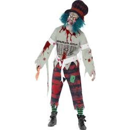 Zombie Hatter Costume -L Size