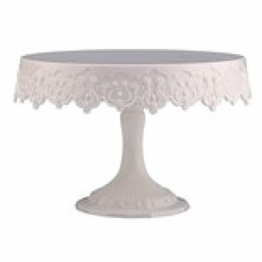 Pavoni - White Cake Stand - 230mm (9in)