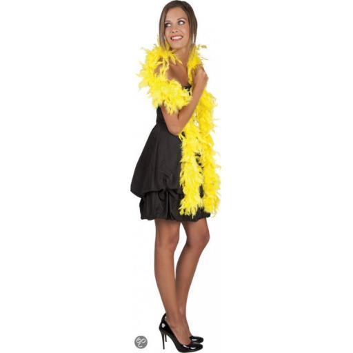 Canary Yellow Feather Boa 50g