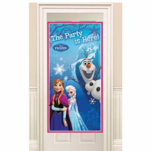 Frozen Plastic Door Banner 76x152cm