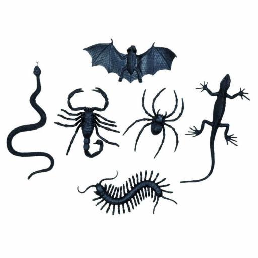 Bag 6 Creepy Creatures