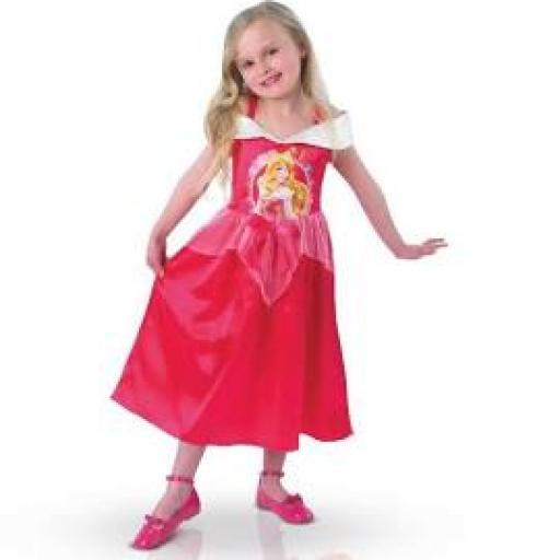 Princess Aurora Story Time Costume LARGE