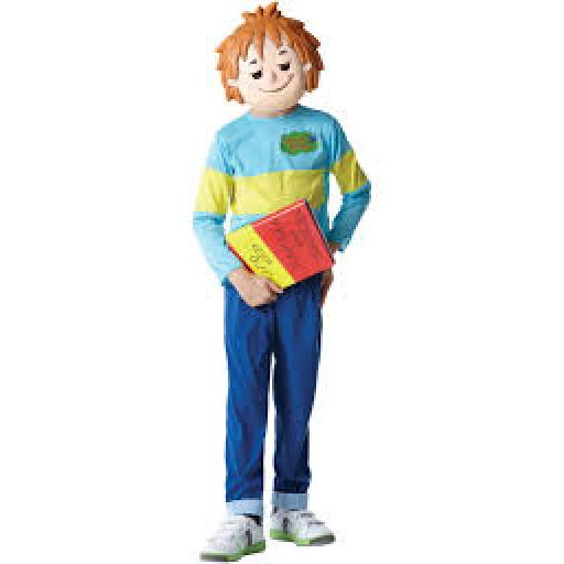 Horrid Henry Costume with Printed Top Trousers Mas