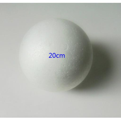 Polystyrene Craft Ball 20cm