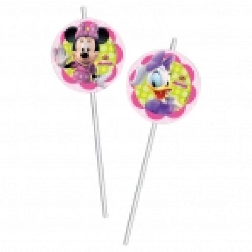 Minnie Mouse 6 Drinking Straws