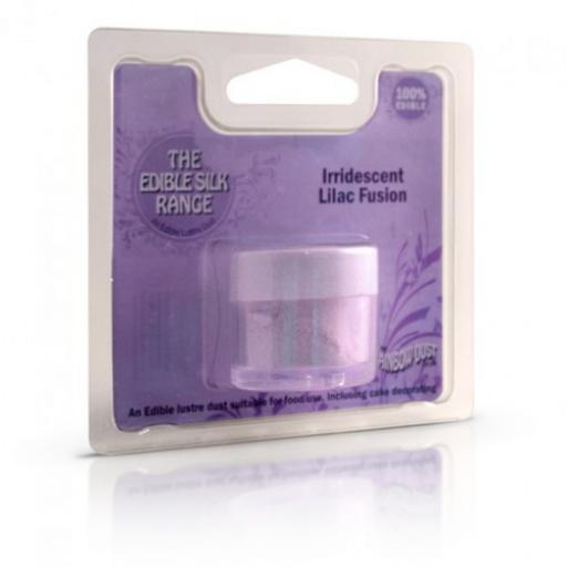 Edible SilkIrridescent Lilac Fusion