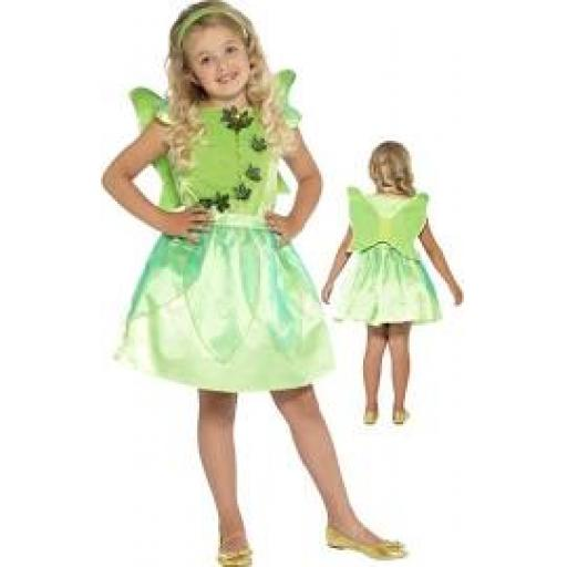 Forest Fairy Dress Fett Wings and Headband