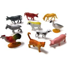Farm Animals 4-5 cm 29p Or 4 For £1 Party Bag Filler