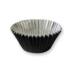Lined Black Foil Baking Cases 30pcs