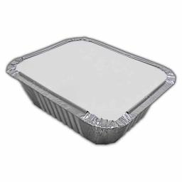Take Away Foil Container & Lid No2 20pcs