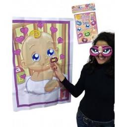 Pin The Dummy on the Baby Baby Shower Game