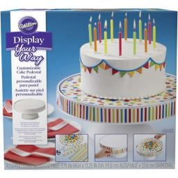 Wilton Display Your Way Customizable Cake Pedestal