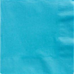 Caribbean Blue Dinner Napkins 2ply 20pcs 40cm