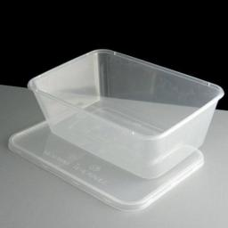 10 Rectangle Container with Lid -1L