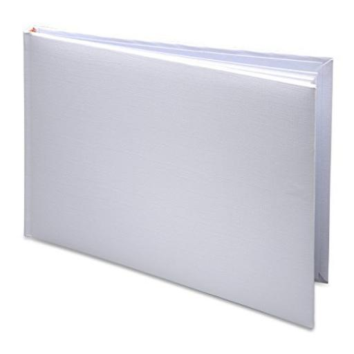 White Wedding Guest Book 245 x 170mm