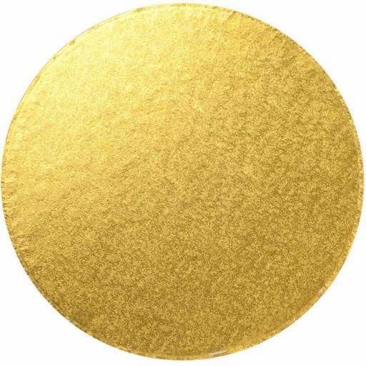 Round Gold 08 inch