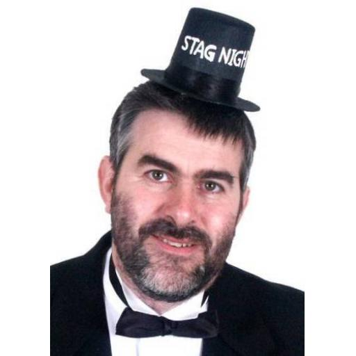 Stag Party Groom Mini Hat