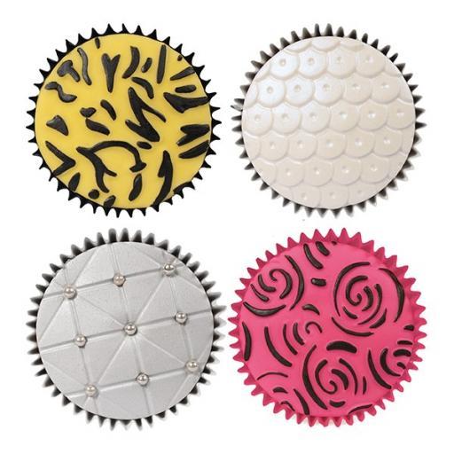 Cake Star Texture Mats - Fashion - 6 Piece 178 x 254mm