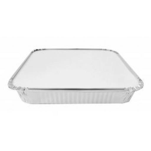 No.10 Foil Container and Lids Deep -4/pkg