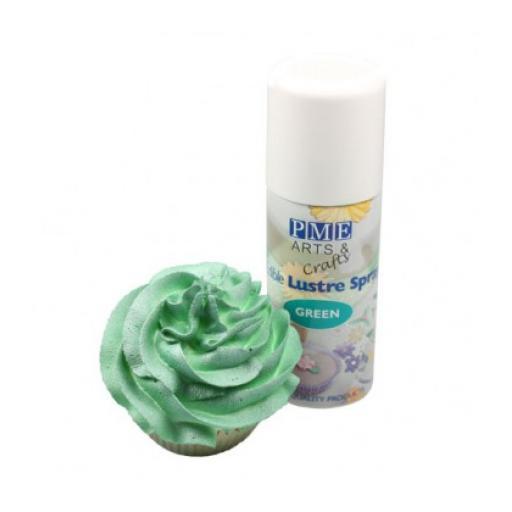 PME Green Edible Lustre Spray 100ml