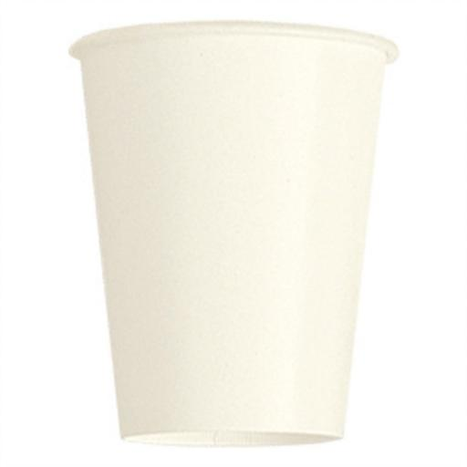 14 Ivory Paper Party Cups 9oz