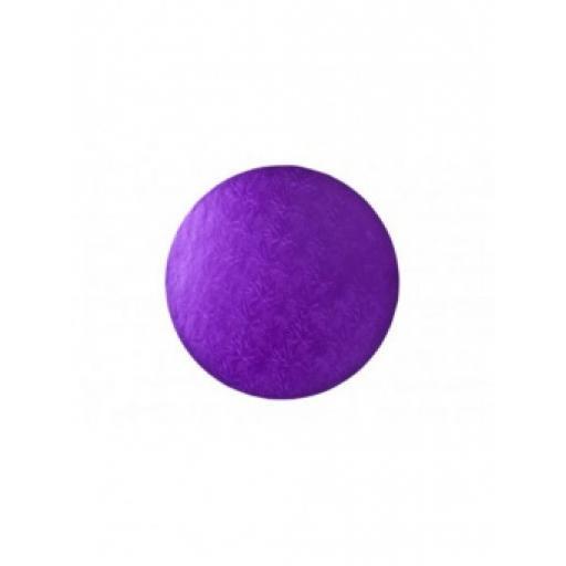 Round Purple 08 inch