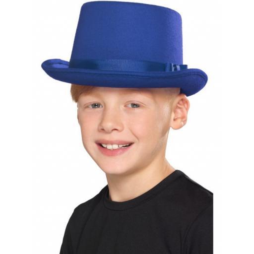 Kids Top Hat, Blue