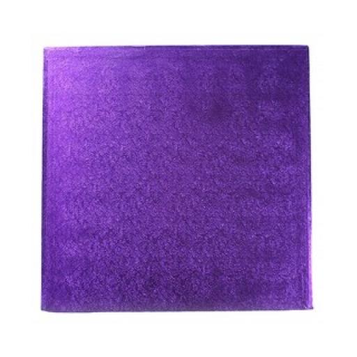 Square Purple 8 inch