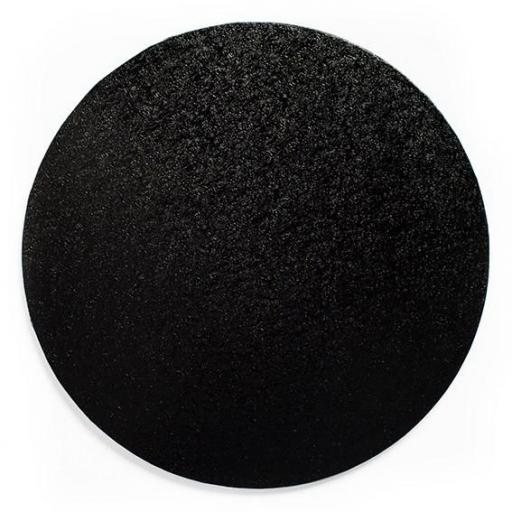 Round Black 08 inch