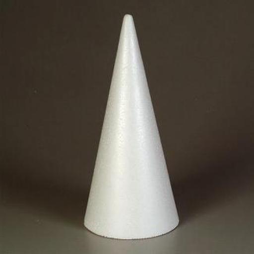 26cm Styropor Cone