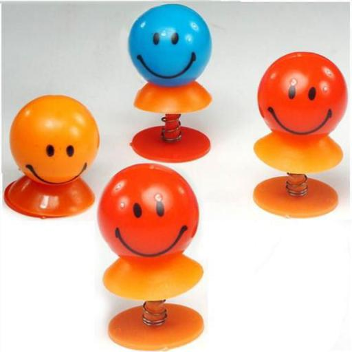 Happy Face Jump Up Toy 4 For £1 Party Bag Filler
