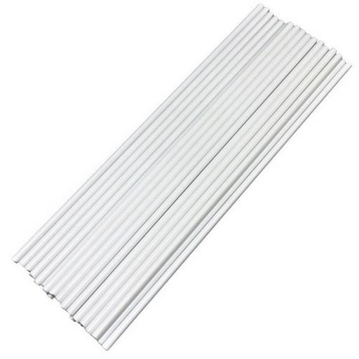 PME Easy Cut Plastic Dowel Rods 16 inch long x 100ct