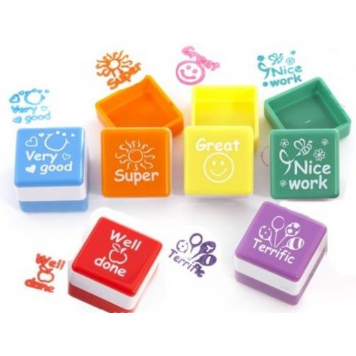 Teachers Stamps 6 Assorted