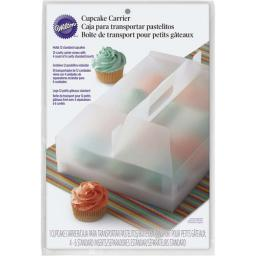 Wilton Clear Plastic Durable Cupcake Transport 1ct