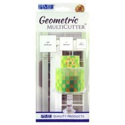 PME Geometric MultiCutter Set of 3 - Square