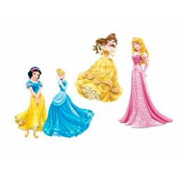 Disney Princess Cardboard Cutouts 2pcs per pack 30cm each