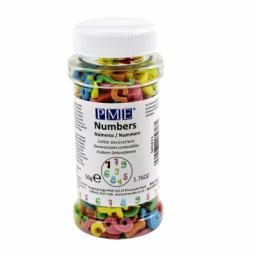 PME Edible Number Confetti Decoration 50g